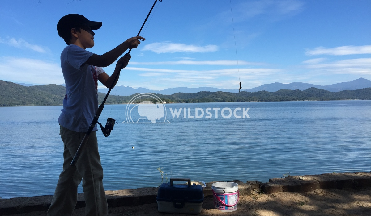 Got a fish? Edwin Cruz