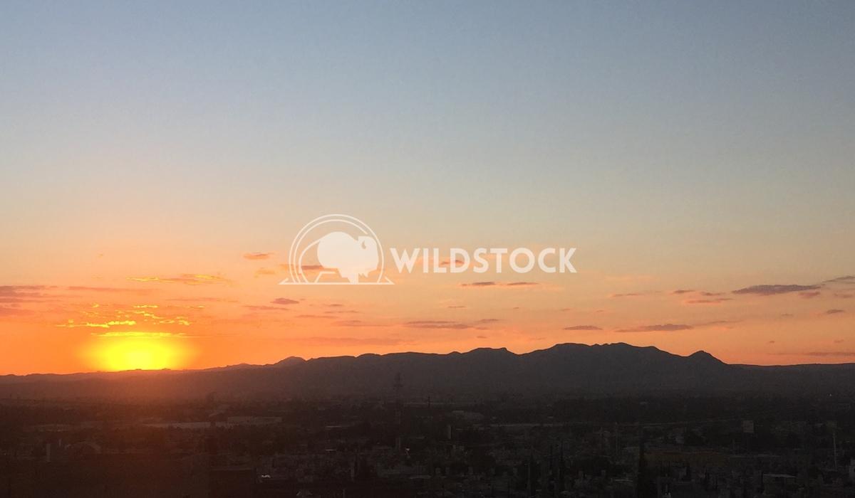 Sunset next to El Cerro del Muerto Edwin Cruz