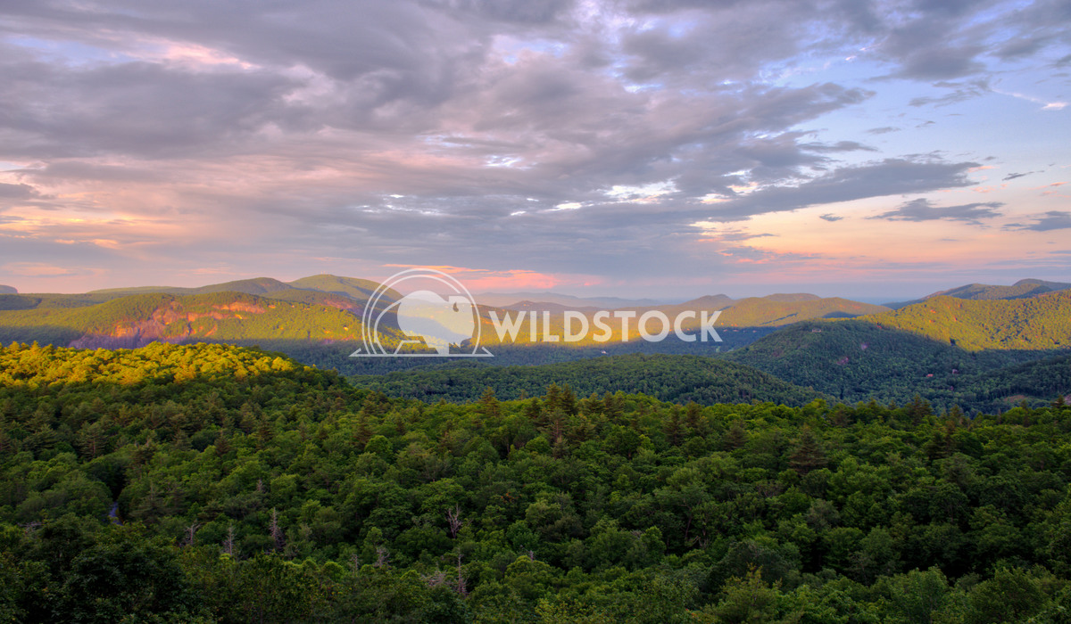 Mountain Sunrise Stacy White Sunrise on a cloudy morning near Cashiers, NC